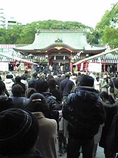 2日の生田神社
