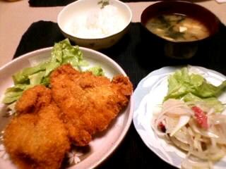チキンカツ〜