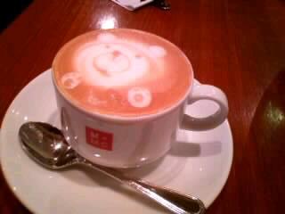 マザームーンカフェのカプチーノ