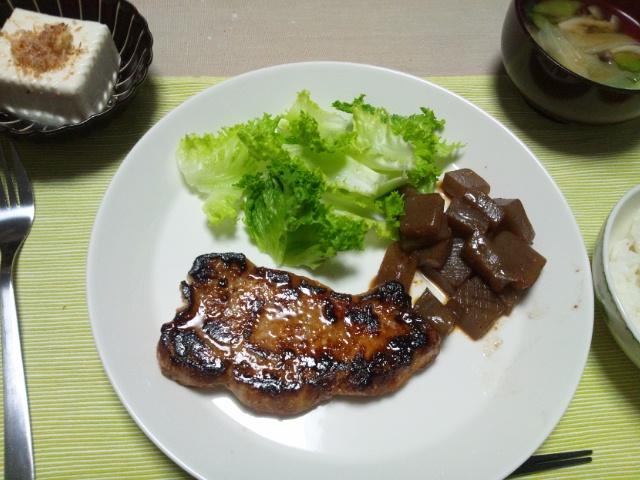 豚ロース×塩麹