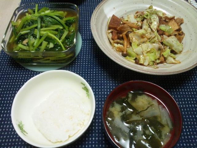 回鍋肉風炒め物