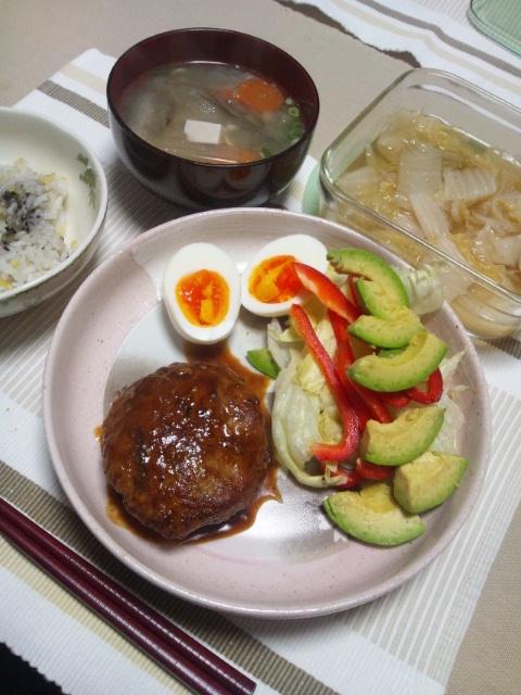 白菜と豚バラの酒煮