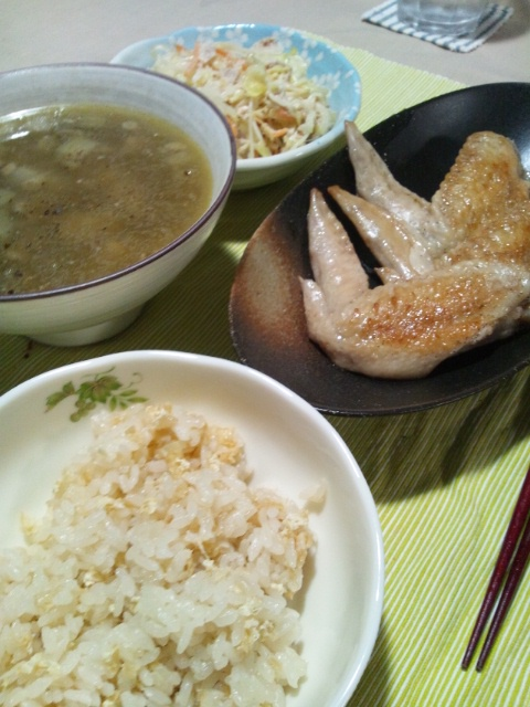 新生姜の炊き込みご飯