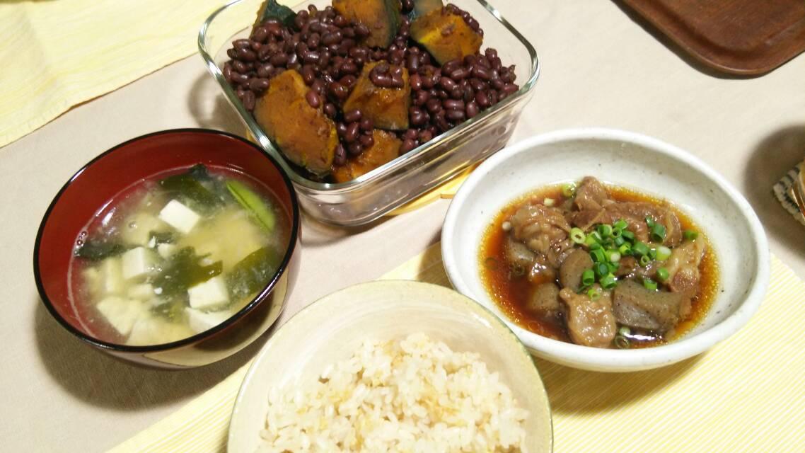 新生姜の炊き込みご飯、ぼっかけ、など