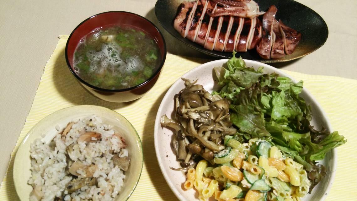 レンコンと豚肉のこしょう炊き込みご飯