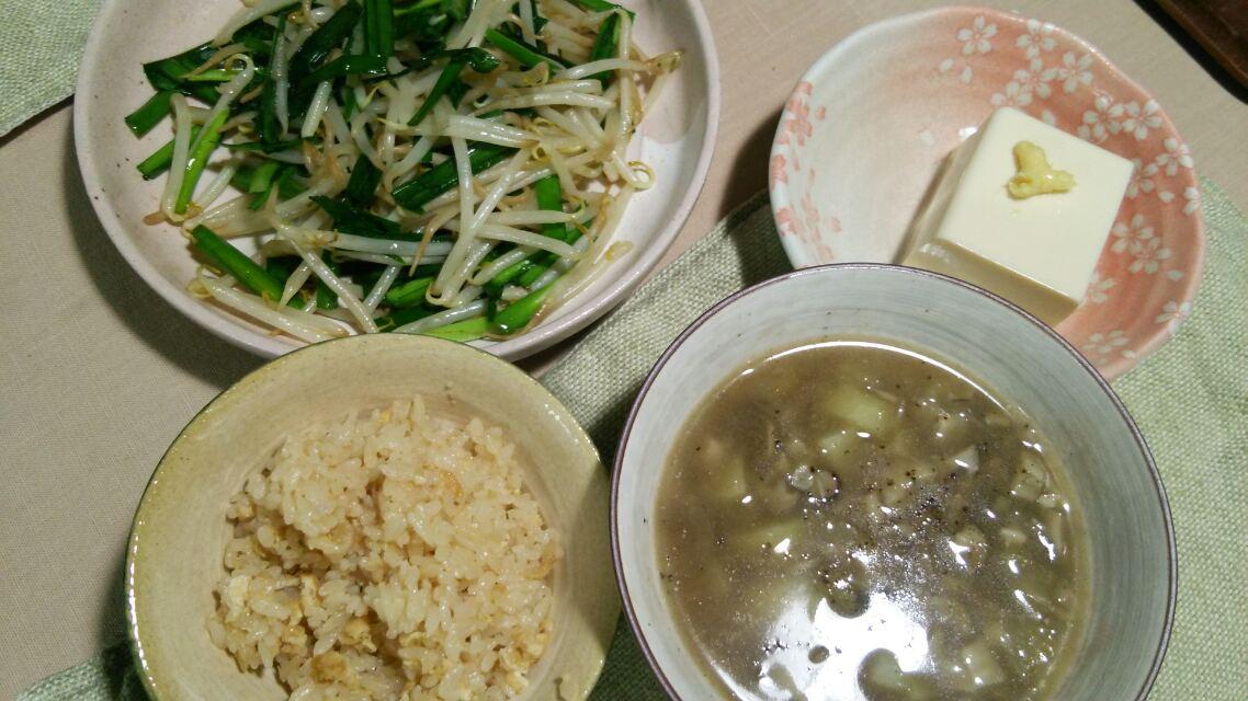 新生姜の炊き込みご飯など