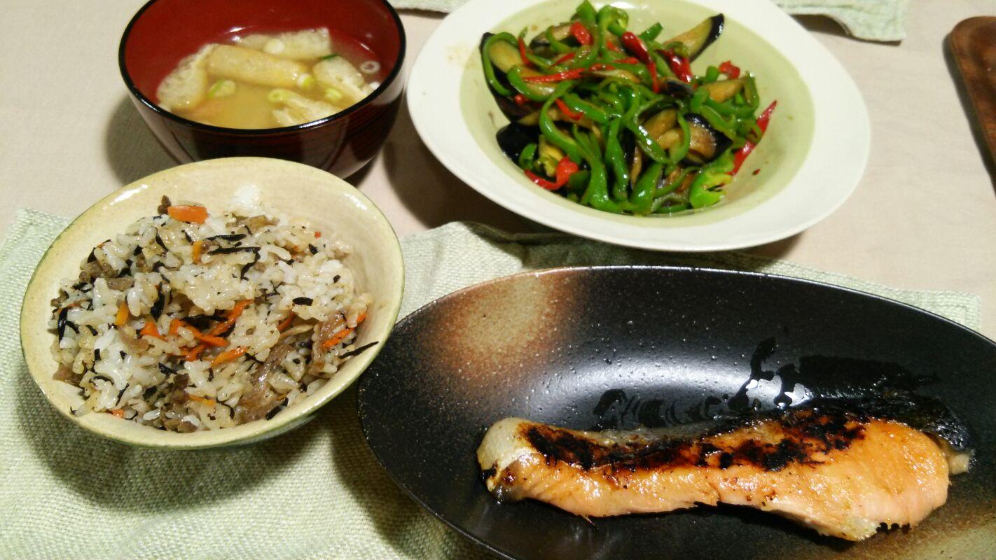 夏が終わってからの素麺