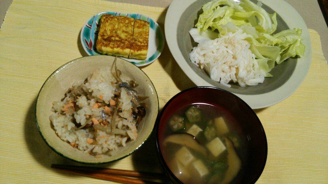 長いもと豆腐のとろとろ焼き、お好み焼きとか
