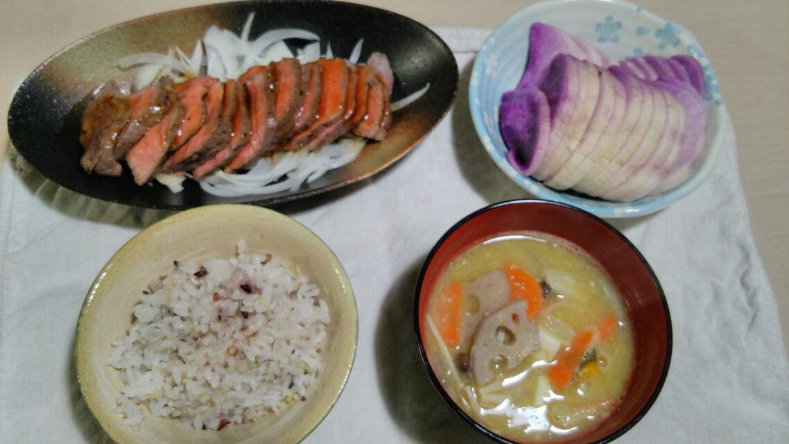 レンコンの天ぷらとか